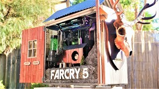 Project FAR CRY 5 - ULTIMATE $4300 GIVEAWAY CUSTOM WATER COOLED GAMING PC - Time Lapse Ubisoft