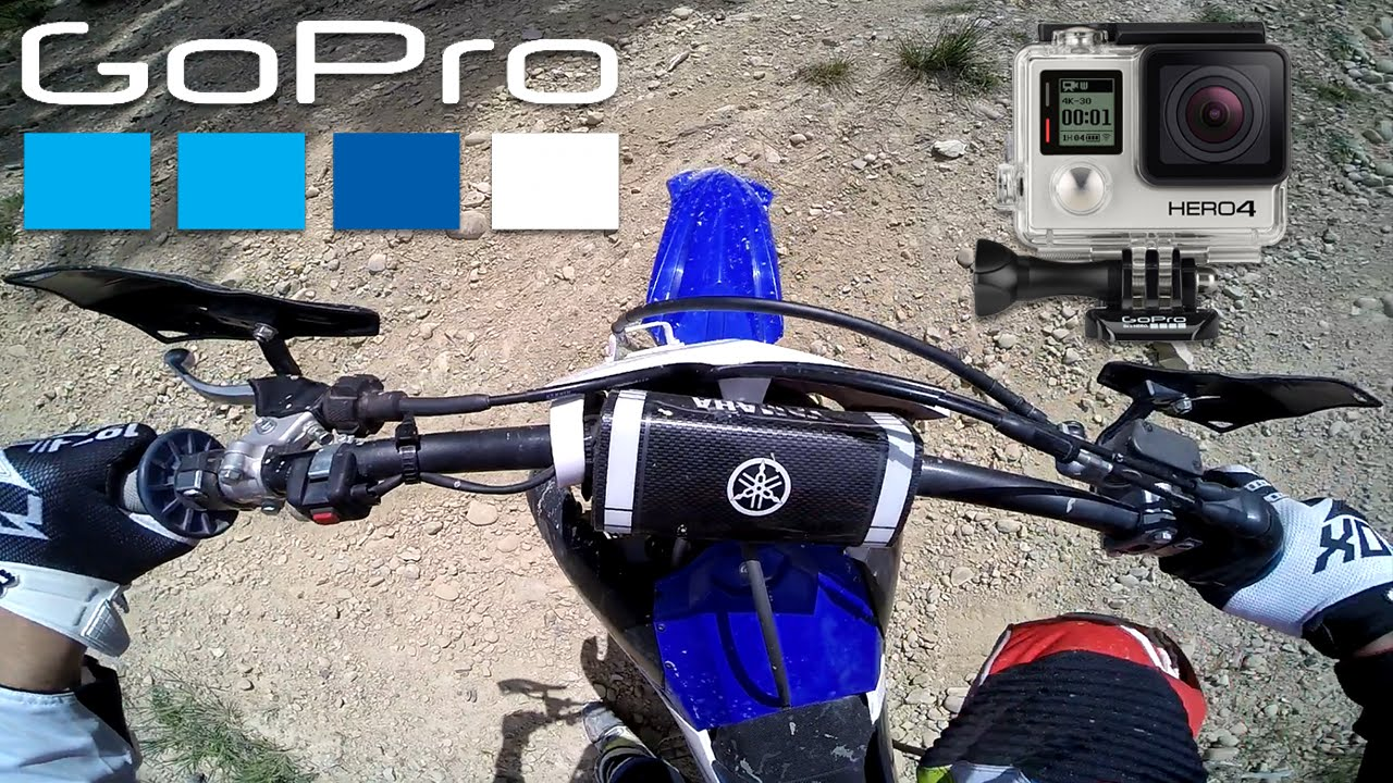 Best Gopro Mounting Position For Motocross Youtube
