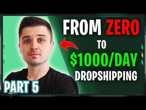 [FREE COURSE] REVEALING My $1K/Day Store That YOU CAN USE | From ZERO to $1000/Day Dropshipping(5/5) thumbnail