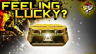 FEELING LUCKY? - Advanced Supply Drop Opening!