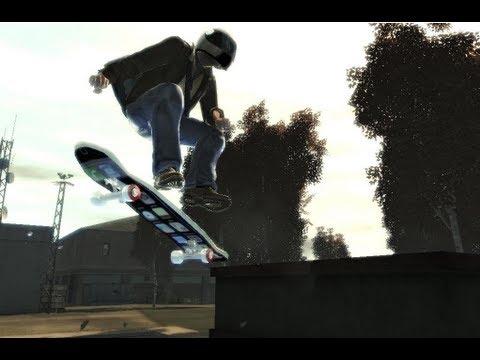 GTA IV: how to get a skateboard - (GTA IV skateboard)