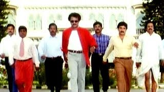 Narasimha Movie || Jeevitamante Poraatam Video Song || Rajnikanth , Soundarya , Ramya Krishna