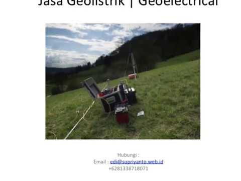 Jasa Geolistrik | Geo Electric Kabupaten Toraja Utara-Rantepao Sulawesi Selatan