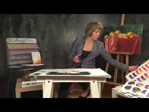 Elena Bazanova's watercolour masterclass. Lesson 3