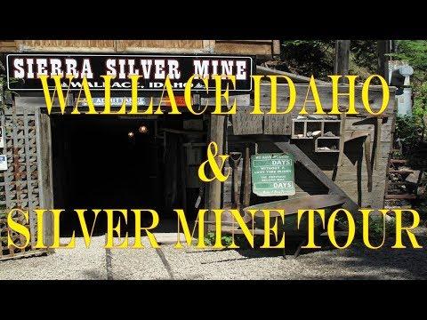 Wallace Idaho Silver Mine Tour 2016