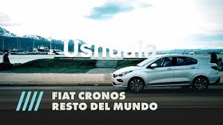 Fiat Cronos Resto del mundo. #Ushuaia