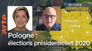 Une leçon de géopolitique du DDC # 06 - Élections en Pologne - Le Dessous des cartes   ARTE