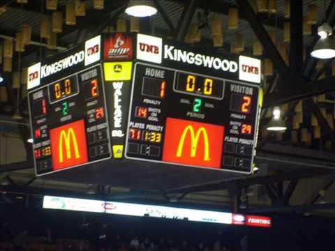 UNB Varsity Reds VS New York Islanders ROOKIES!