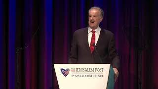 Dr. Michael D. Evans addresses the Jerusalem Post Annual Conference