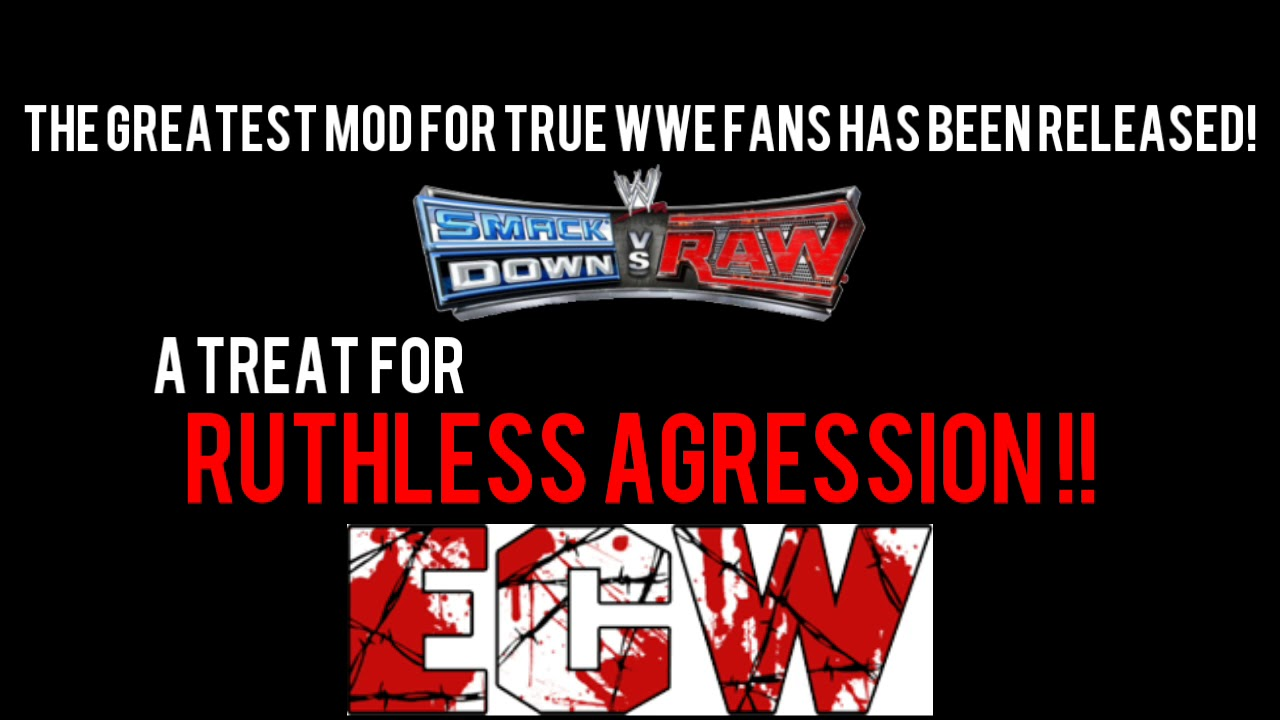 WR3D BEST MOD EVER!WR3D SMACKDOWN VS RAW(WITH ECW AND OTHERS BONUS)LINK IN  DESCRIPTION By WR3D Ijar