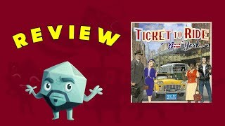 Ticket to Ride: New York Review - with Zee Garcia