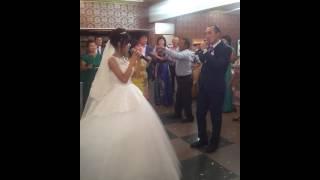Песня на свадьбе НУРТАС+НАЗЕРКЕ