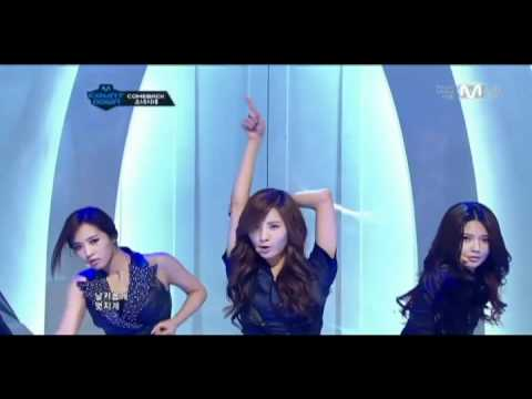 2011 MAMA line-up Girls' Generation