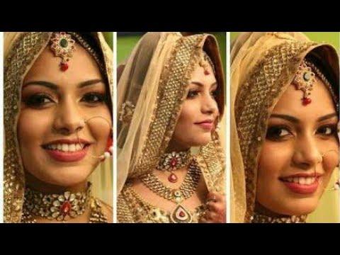 Kerala muslim bridal makeup tutorial|south indian braidal makeup|new elegant models|difrent style ma