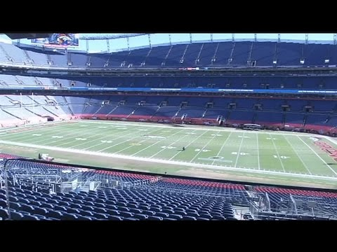 22News gets a tour of Mile High Stadium