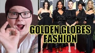 GOLDEN GLOBES 2018 RED CARPET FASHION REVIEW