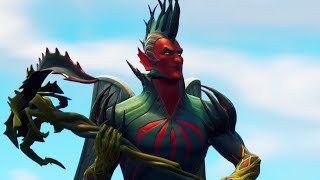 "NEW LEGENDARY DIABOLICAL SKIN OF THE ""FLYCATCHER""! (Fortnite Battle Royale)"