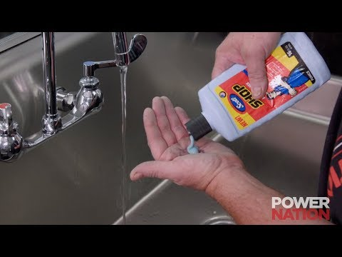 The Best Way To Remove Garage Grime From Your Hands