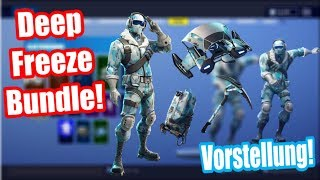 Finally Fortnite Deep Freeze Bundle! | Fortnite Bibber Package Presentation! | Fortnite Battle Royale