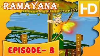 Ramayan Short Story For Kids |  Ramayan in Hindi | Animated Cartoon Story For Kids Ep 8 | Kahaniyaan