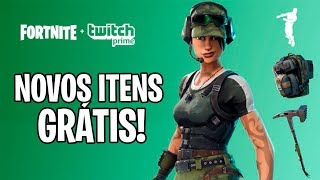 FORTNITE-NEW FREE ITEMS FROM TWITCH PRIME IN BATTLE ROYALE!