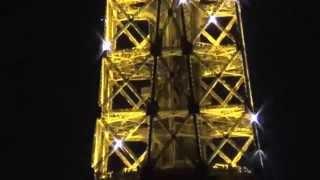 Париж из Самары. Эйфелева башня ночью