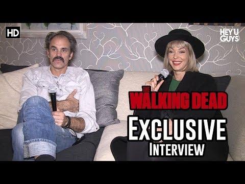 Jadis & Simon Go Head to Head in The Walking Dead Season 8 Exclusive Interview