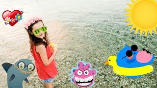 Вечерняя прогулка у моря! Греция, Халкидики и Миньон!(В Греции я очень любила вечером гулять у моря. Вечером море очень спокойное и очень красивый закат. Можно..., 2016-07-20T19:25:12.000Z)