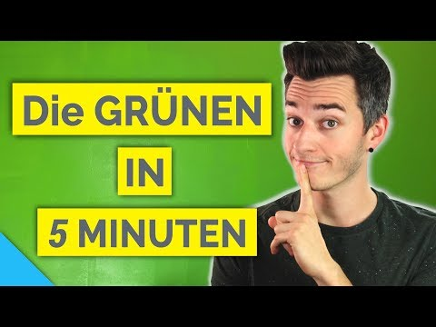 Die GRÜNEN Wahlprogramm in 5 Minuten | #btw17