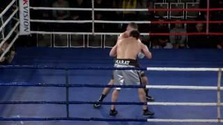Boxing Show от Sparta. Киев, 24/12/2016. Владимир Романенко, UKR vs Марат Колумбегов, UKR