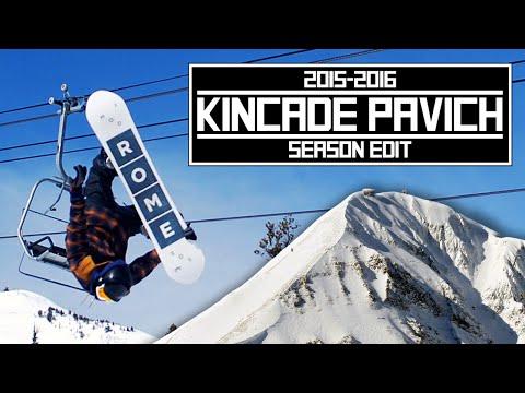 Kincade Pavich 20152016 Snowboarding Season Edit