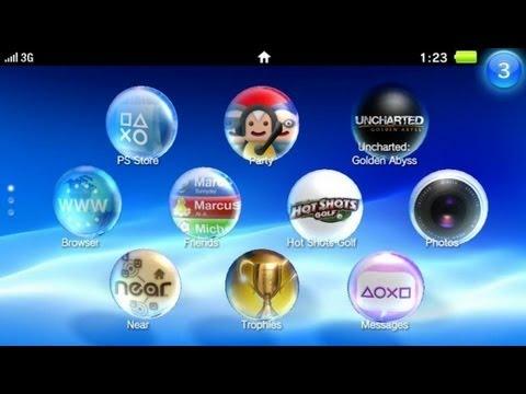 PS Vita apps APLICACIONES