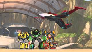Transformers RID Windblade Returns and Rescue Bots Reference