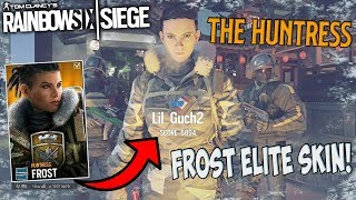 Huntress *New* Frost Elite Skin! | Operation Grim Sky | Rainbow Six Siege