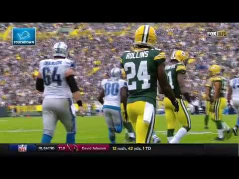 Anquan Boldin Snags Goal Line TD! | Lions vs. Packers | NFL
