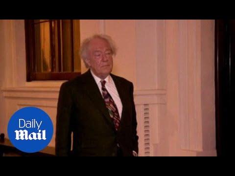 Sir Michael Gambon joins guests at Royal arts reception in 2014 - Daily Mail