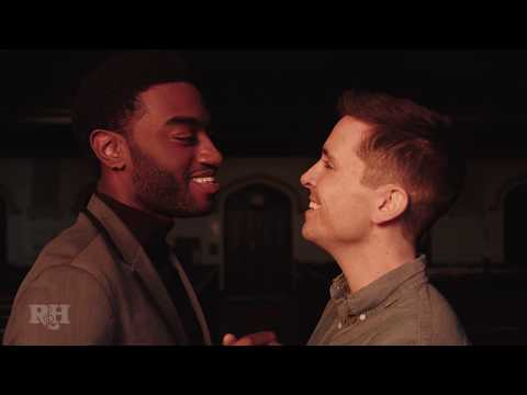 "Jelani Alladin and Matt Doyle ""We Kiss In A Shadow"" 