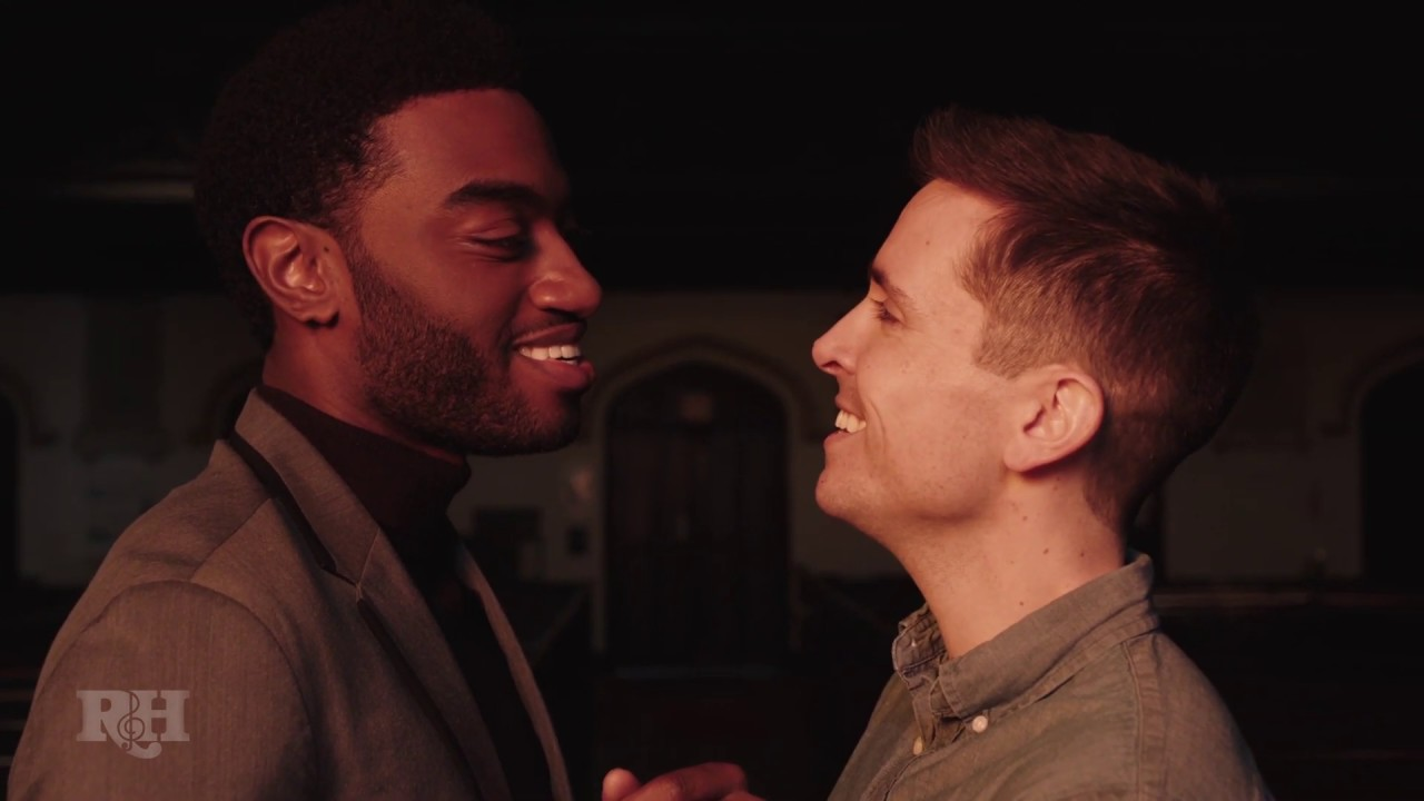 """Jelani Alladin and Matt Doyle """"We Kiss In A Shadow"""" 