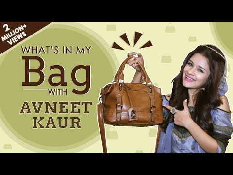 What's In My Bag With Avneet Kaur | Bag Secrets Revealed | Exclusive