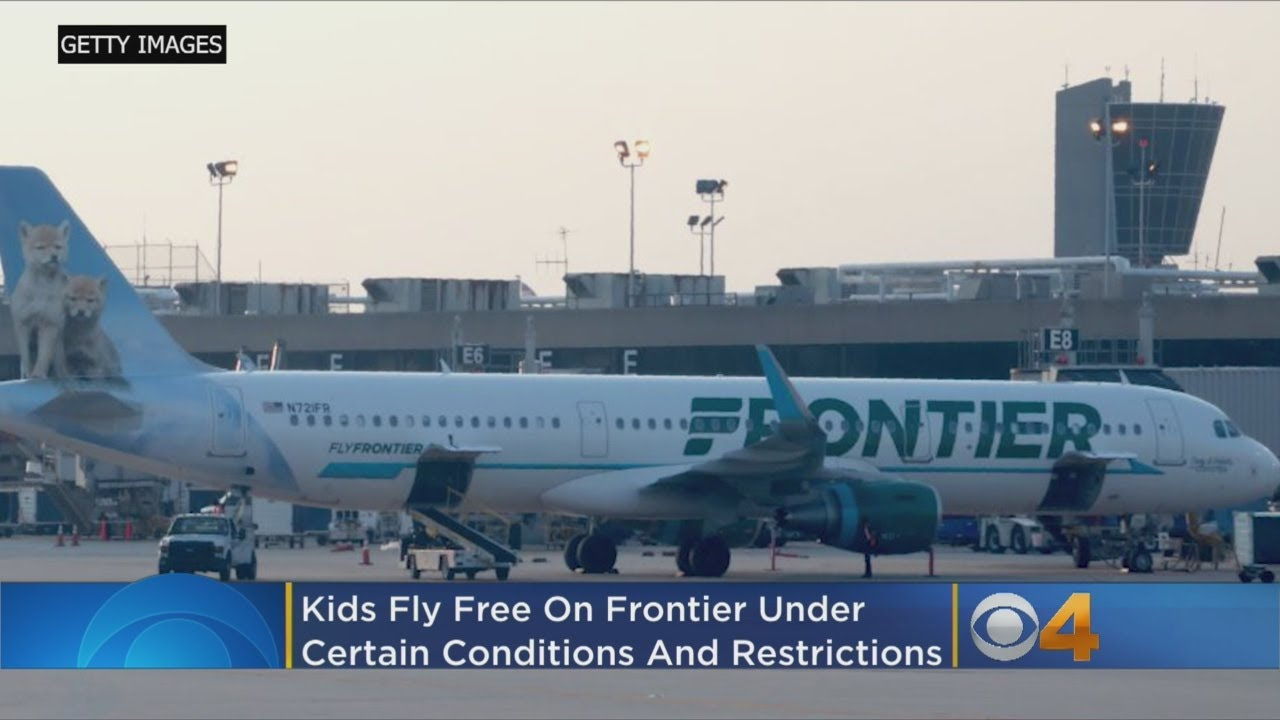 'Kids Fly Free': Kids 14 And Under Can Fly Free On Select Frontier Airlines Flights -- Her
