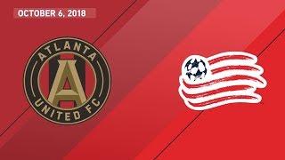 HIGHLIGHTS: Atlanta United FC vs. New England Revolution   October 6, 2018