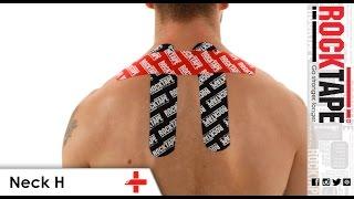RockTape - Kinesiology Tape Instruction - Neck H