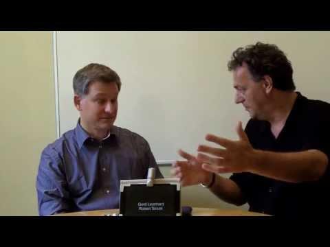 Media Futurists Robert Tercek and Gerd Leonhard talk about the Future of Media, TV, Film, Music