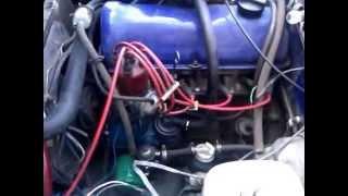 видео Работа двигателя жигули