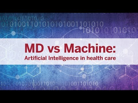 MD vs. Machine: Artificial intelligence in health care