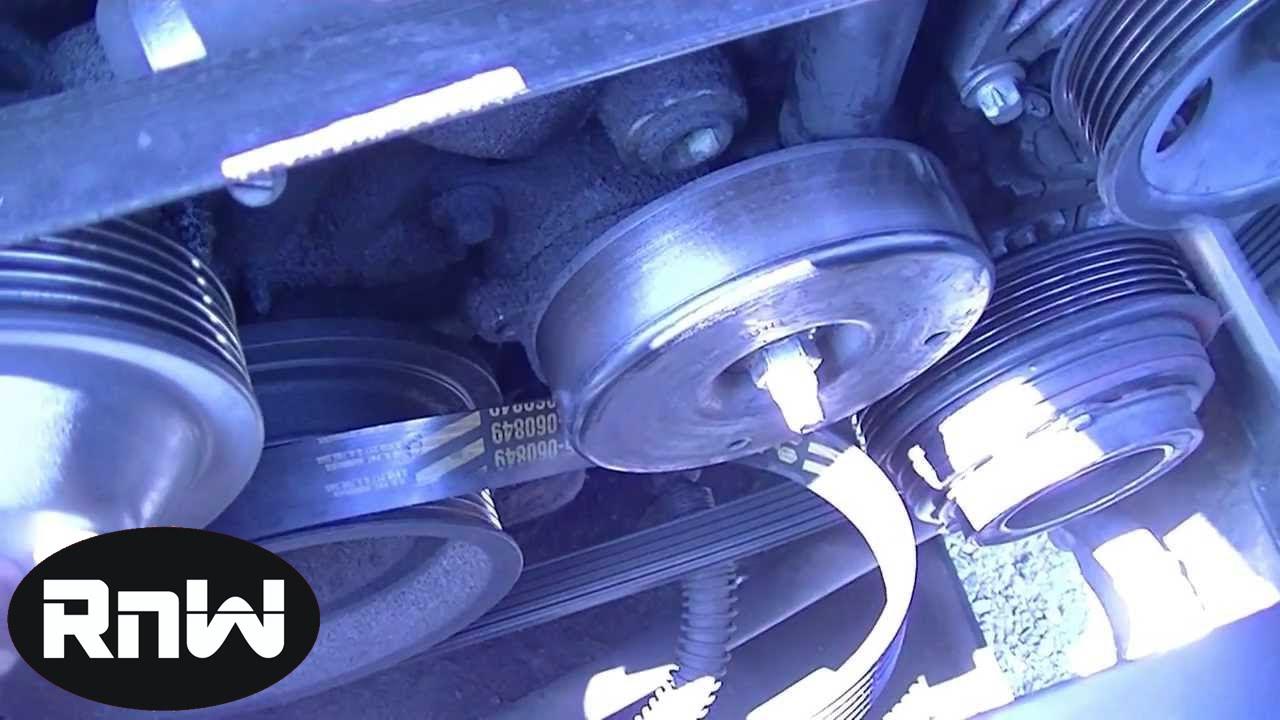 mercedes c230 serpentine belt tensioner shock replacement [ 1280 x 720 Pixel ]