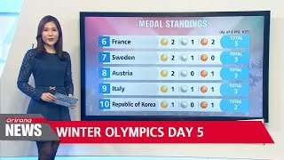 PyeongChang Winter Olympics Day 5