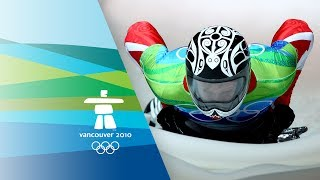 Jon Montgomery Wins Mens Skeleton Gold - Vancouver 2010 Winter Olympics