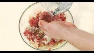 Самый сочный ФАРШ для МАНТОВ / рецепт от шеф-повара / Илья Лазерсон / среднеазиатская кухня