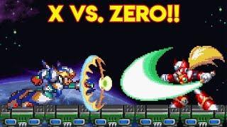 La Historia de Mega Man X (PARTE 3): X vs. Zero!! - Pepe el Mago